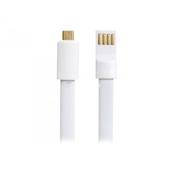 KABEL USB MICRO BIAŁY VEGA MAGNETO BRANSOLETKA