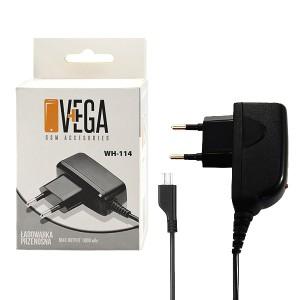 ŁADOWARKA SIECIOWA MICRO USB 1A VEGA BOX