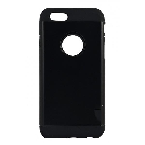 ETUI HARD CASE ARMOR iPhone 6 6S 6G PLUS 5.5 CZARNY ARMOR SPIGEN PLASTIC BOX