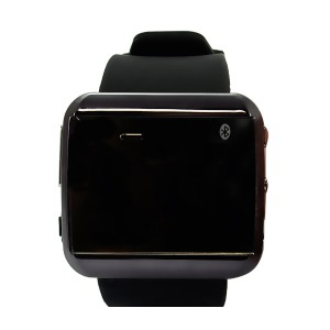ZEGAREK SMART WATCH CZARNY VEGA DROID 2 SMARTWATCH ANDROID IOS BLUETOOTH NA RĘKĘ