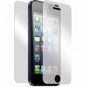 IPHONE 5 5S 5G SZKŁO OCHRONNE - FOLIA LCD HARTOWANA ZESTAW TYŁ PRZÓD,