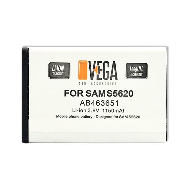 AB463651 BATERIA VEGA SAMSUNG S5620 B3410 B5310 S5610 S5550 S5600 S5660 BULK S5610 S5620 B3410 C3780 S7220