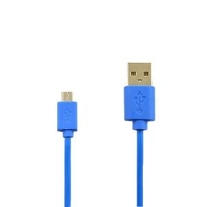 KABEL USB MICRO NIEBIESKI