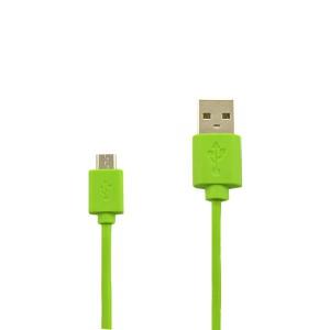KABEL USB MICRO ZIELONY