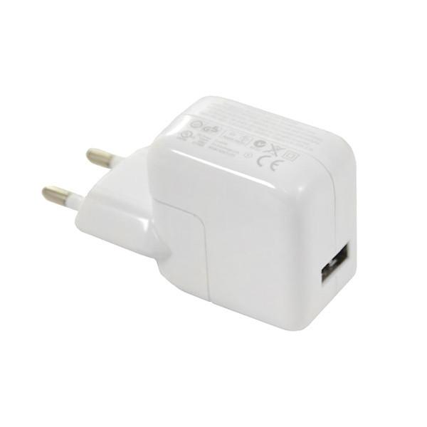 ŁADOWARKA SIECIOWA USB 2.4A BIAŁA 12W 2400mAh A1401 IPAD IPHONE 2A