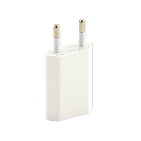 ŁADOWARKA SIECIOWA APPLE USB 1A BIAŁA IPHONE A1400 5W 4 4S 4G 5S 5G 5C 1000mAh