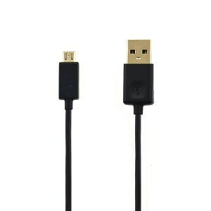 KABEL USB MICRO LG G5 CZARNY PRZEWÓD UNIWERSLANY EAD62329704 G6