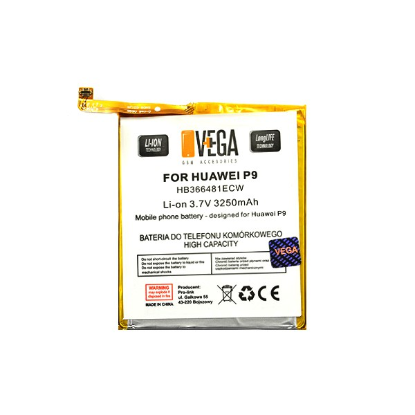 BATERIA VEGA HUAWEI P9 3250mAh HB366481ecw