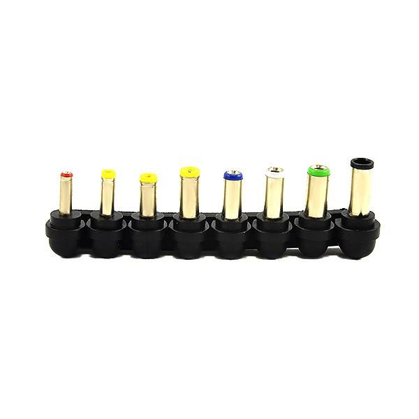 ZASILACZ UNIWERSALNY DO LAPTOPA  15-24V USB 8 KOŃCÓWEK BLISTER
