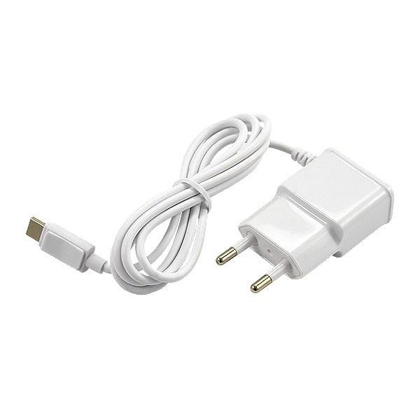 ŁADOWARKA SIECIOWA USB TYP-C 2A ECONOMY BIAŁA VEGA 2100mAh