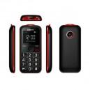 MAXCOM MM560BB TELEFON GSM CZARNO/CZERWONY DAL SENIORA