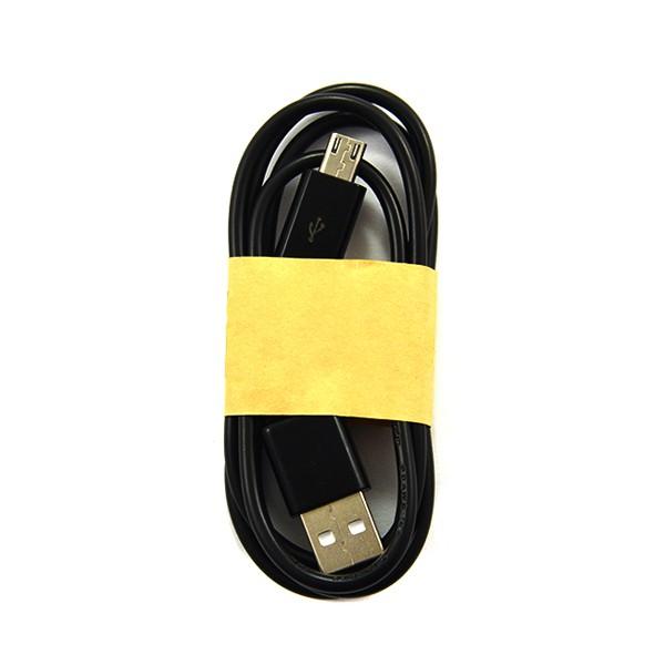 KABEL USB MICRO CZARNY ECONOM KOŃCÓWKA 8MM