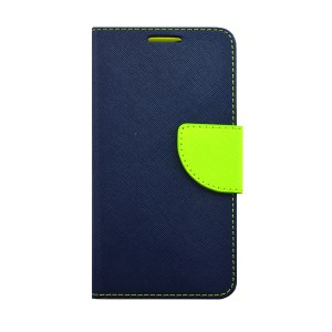 IPHONE X FANCY KABURA PORTFEL ETUI GRANATOWY LIMONKA IPHONE 10