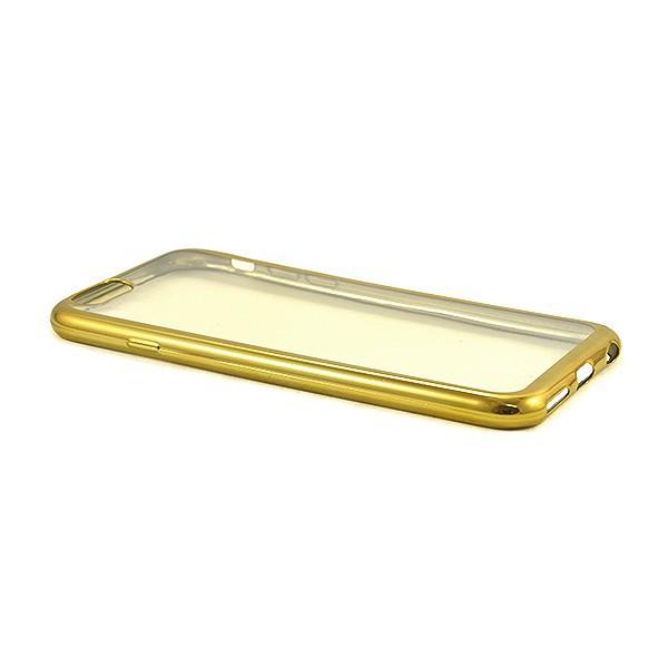ETUI CLEAR CASE IPHONE X / XS / 10 ZŁOTA NAKŁADKA RAMKA BUMPER 11 PRO