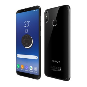 SMARTFON CUBOT R11 CZARNY 4X1,3 GHZ 2GB/16GB 13MP 5'' fingerprint 2800mAh