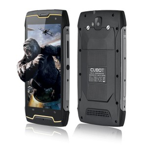 SMARTFON CUBOT KING KONG CZARNY 4X1,3 GHZ 2GB/16GB 13MP/8MP 5'' 4400mAh IP68
