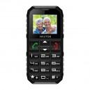 TELEFON GSM MAXCOM M60 CZARNY/SZARY DUAL SIM MAXTON