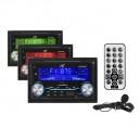 RADIO SAMOCHODOWE LTC AVX2000 2DIN USB/SD/MMC/MP3/BT/mic/app