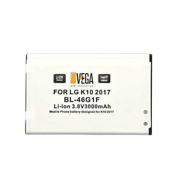 BATERIA VEGA LG K10 2017 3000 mAh 2750 mAh BL-46G1F