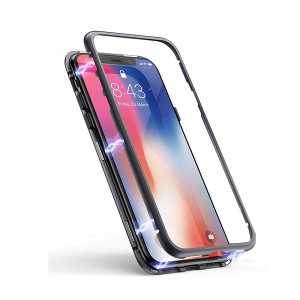 IPHONE X / 10 NAKŁADKA MAGNETIC 360 ETUI PANCERNE  V1 BOX