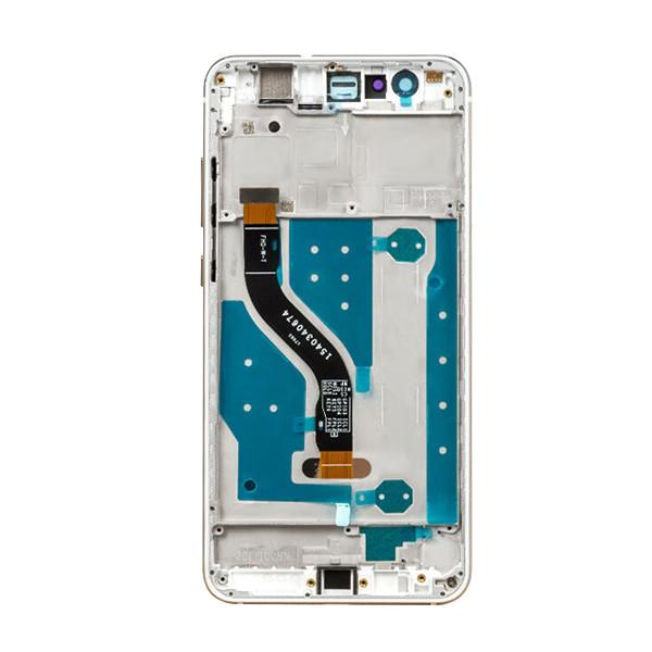 MODUŁ DIGITIZER + WYŚWIETLACZ LCD HUAWEI P10 LITE EKRAN DOTYKOWY DIGI BIAŁY WHITE + RAMKA