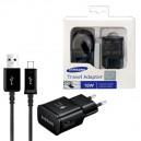 ŁADOWARKA SIECIOWA USB MICRO 2A CZARNA SAMSUNG EP-TA20EBE + ECB-DU4EBE FAST CHARGING RETAIL BOX 2000mAh