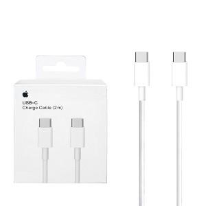 KABEL USB APPLE MLL82ZM/A USB-C DO USB-C BIAŁY BOX  2M