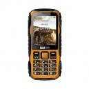 TELEFON KOMÓRKOWY MM920 MAXCOM STRONG CZARNY ŻÓŁTY IP67