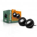 GŁOŚNIKI PC CANYON OFFICE  2X4W USB CZARNY CNR-FSP01