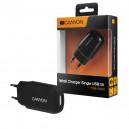 ŁADOWARKA SIECIOWA USB MICRO 1A CZARNA CANYON CNE-CHA11B 1000mAh