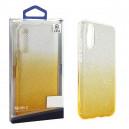 ETUI BLINK SAMSUNG S10  POKROWIEC ZŁOTY NAKŁADKA PLECKI G973 GLITTER BLISTER CASE