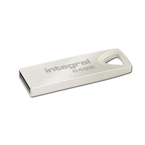 PENDRIVE INTEGRAL 64GB ARC METAL INFD64GBARC USB 2.0
