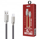 KABEL USB TYP-C 3,1A NAFUMI SZARY 3100mAh QUICK CHARGER QC 3.0 1M NFM-A7