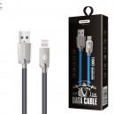 KABEL USB LIGHTNING 3,1A NAFUMI SZARY 3100mAh QUICK CHARGER QC 3.0 1M IPHONE NFM-A6