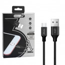 KABEL USB TYP-C 3A NAFUMI CZARNY 3000mAh QUICK CHARGER QC 3.0 2M NFM-A3000