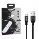 KABEL USB MICRO 3A NAFUMI CZARNY 3000mAh QUICK CHARGER QC 3.0 2M NFM-A1000