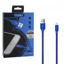 KABEL USB LIGHTNING 3A NAFUMI NIEBIESKI 3000mAh QUICK CHARGER QC 3.0 2M IPHONE NFM-A2000
