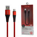 KABEL USB MICRO 5A NAFUMI CZERWONY 5000mAh QUICK CHARGER QC 3.0 30CM NFM-A30