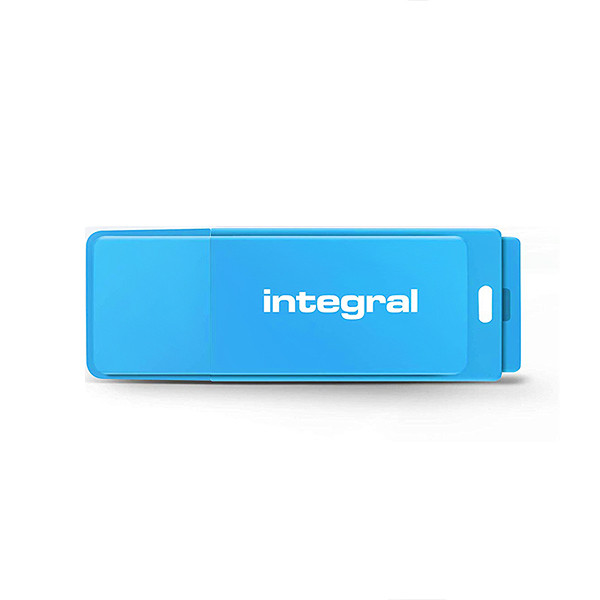 PENDRIVE INTEGRAL 64GB DRIVE NEON BLUE USB 2.0 INFD64GBNEONB