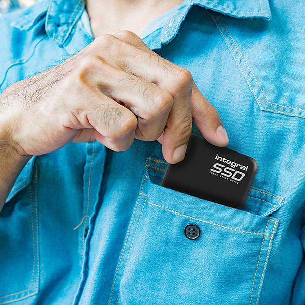 DYSK PRZENOŚNY SSD INTEGRAL 120GB 3.0 USB PORTABLE INSSD120GPORT3.0