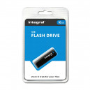 PENDRIVE INTEGRAL 16GB DRIVE BLACK INTE USB 2.0 INFD16GBBLK
