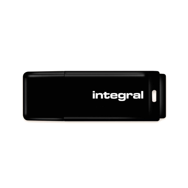 PENDRIVE INTEGRAL 64GB DRIVE BLACK INTE USB 2.0 INFD64GBBLK