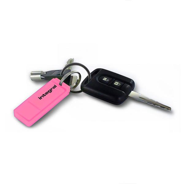 PENDRIVE INTEGRAL 16GB DRIVE NEON PINK USB 2.0  INFD16GBNEONPK