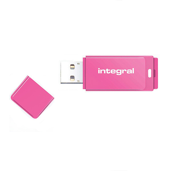 PENDRIVE INTEGRAL 32GB DRIVE NEON PINK USB 2.0 INFD32GBNEOPK