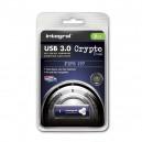 PENDRIVE INTEGRAL 8GB SZYFROWANY USB 3.0 FIPS197 INFD8GCRYDL3.0197