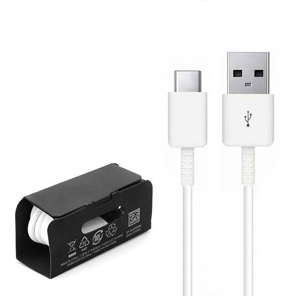 KABEL USB TYP-C SAMSUNG BIAŁY FAST CHARGER QUICK SZYBKIE ŁADOWANIE TYP C TYPC 1.1M EP-DG970