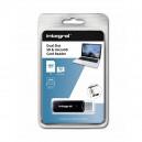 ADAPTER CZYTNIK KART MICRO / SD INTEGRAL CZARNY USB 3.1