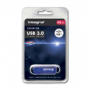 PENDRIVE INTEGRAL 64GB DRIVE CURIER USB 3.0