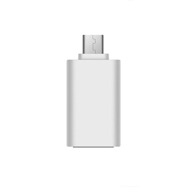 ADAPTER HOST OTG MICRO USB BIAŁY VIS