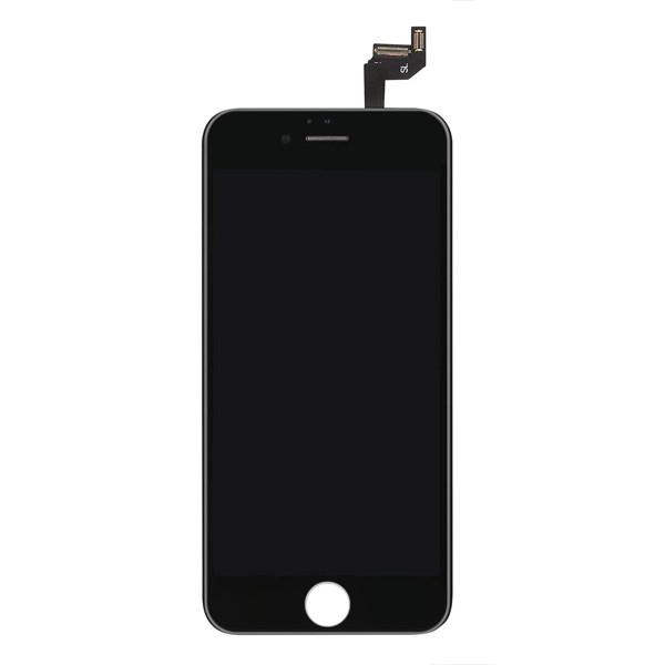 MODUŁ WYŚWIETLACZ LCD + DIGITIZER IPHONE 6S PLUS CZARNY EKRAN DOTYKOWY DIGI DOTYK ORI QUALITY 6S+